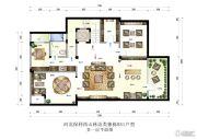 保利西山林语4室3厅5卫467平方米户型图