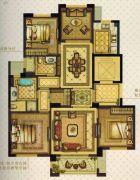 温州・奥体城4室2厅2卫118平方米户型图