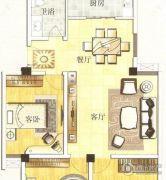 水岸帝景 高层3室2厅2卫108平方米户型图