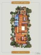 永威高新紫园256平方米户型图