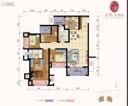 保利金香槟4室2厅2卫0平方米户型图