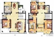 凤凰花园4室4厅3卫250平方米户型图