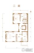 首创・禧瑞墅|河著4室2厅2卫310--350平方米户型图
