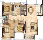 太一格4室2厅2卫136--142平方米户型图
