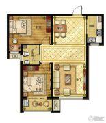清山公爵城2室2厅1卫95平方米户型图