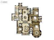 橡逸湾4室3厅4卫360平方米户型图