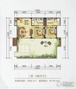 梦云南・海东方98平方米户型图