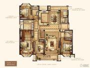 万达华府・大公馆4室2厅4卫246平方米户型图