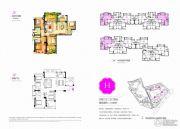 阳光城花语海4室2厅2卫108平方米户型图