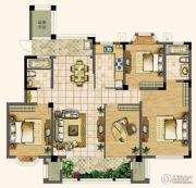 天润国际花园4室2厅2卫143平方米户型图