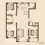 益和国际城3室2厅1卫120平方米户型图