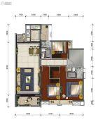 中海花湾壹号4室2厅2卫140平方米户型图