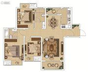 枫林天下・康城3室2厅2卫0平方米户型图