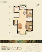 恒祥空间2室2厅1卫0平方米户型图