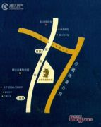 夏威夷大酒店产权式公寓B座交通图