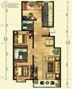 璞悦湾3室2厅2卫128平方米户型图