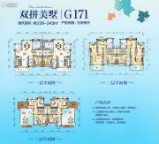 碧桂园山湖城(荆门纪山)5室2厅4卫239--243平方米户型图