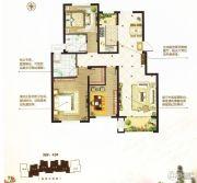 阳光首院3室2厅2卫120平方米户型图
