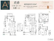 鲁能泰山7号院4室2厅3卫168平方米户型图