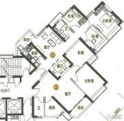海陵岛恒大御景湾3室2厅1卫82--92平方米户型图