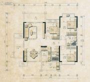 君和园3室2厅2卫133--134平方米户型图