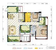 远达春天里4室2厅2卫116平方米户型图