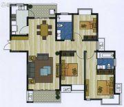 新加坡尚锦城3室2厅2卫139平方米户型图