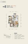 碧桂园太东公园上城3室2厅1卫0平方米户型图