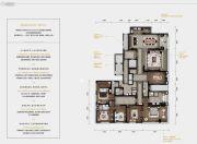 梵悦天御6室2厅4卫378平方米户型图
