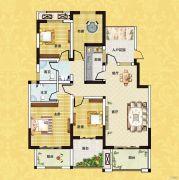 正商红河谷4室2厅2卫132平方米户型图