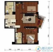 华远九都汇2室2厅2卫140平方米户型图