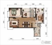昆明广场2室2厅1卫0平方米户型图