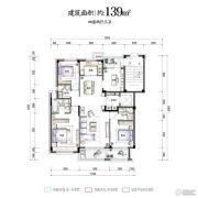 华夏四季4室4厅3卫0平方米户型图