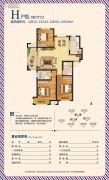 荣盛・香榭兰庭3室2厅2卫120--128平方米户型图