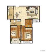 泰成悦府3室2厅1卫0平方米户型图