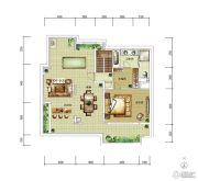 华润中央公园0室0厅0卫151平方米户型图