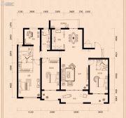 金茂广场4室2厅3卫211平方米户型图