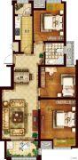 创维乐活城3室2厅1卫104平方米户型图