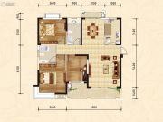随州新城大自然2室2厅2卫119--32平方米户型图