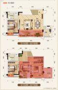 置地城二期・天玺4室3厅3卫106平方米户型图