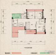 翰林府邸3室2厅2卫89--107平方米户型图