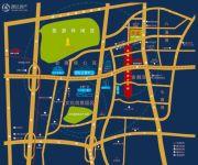 东华会展蓝湾一期交通图