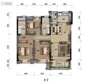 嘉裕第六洲3室2厅2卫120平方米户型图