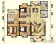 芭提雅火山岩温泉小镇3室2厅2卫128平方米户型图