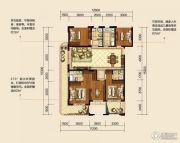 翡翠山5室2厅2卫137平方米户型图