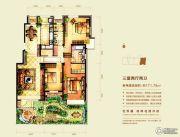 意林・国际公园3室2厅2卫171平方米户型图