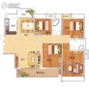 非凡领域4室2厅2卫144平方米户型图