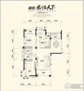丽景・君临天下4室1厅2卫0平方米户型图