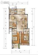 泰安江南星语3室2厅2卫120平方米户型图