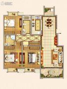 仁和景苑3室2厅2卫143平方米户型图